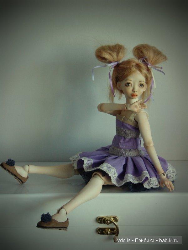 Чебурашка. Авторские шарнирные куклы Валентины Лопушко (vdolls)