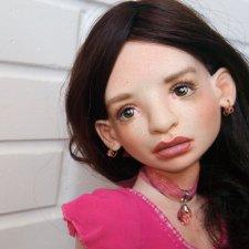 Авторская шарнирная кукла бжд Лола