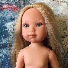 Vestida de Azul, Карлотта, блондинка без челки