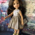 Паола Рейна, Нора-Кэрол, в платье и обуви