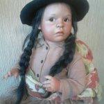 Этнические куклы Bets & Amy Van Boxel