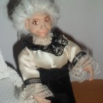 Моя вторая авторская куколка из пластики