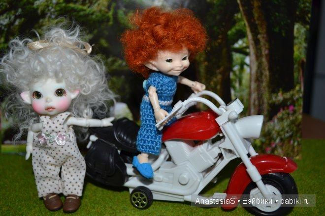 Мирон предложил покататься на мотоцикле..