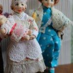 Авторские куклы из пластики для кукольного дома