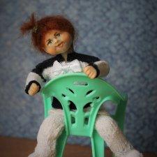 ШуНечка, мини кукла для домика