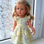 Платьице для куколок Gotz 36 см