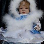 Мой первый реборн Снегурочка-Марина