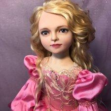 Ниночка. Авторская кукла Елены Бурыгиной