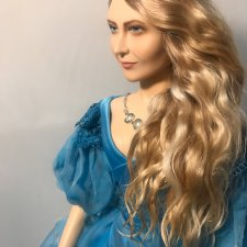 Елена. Новая портретная кукла Елены Бурыгиной