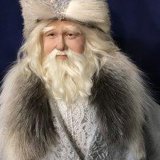 Дедушка Мороз. Авторская кукла Елены Бурыгиной