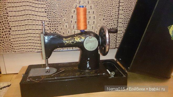 Детская швейная машинка выпуска ссср. Все что осталось от этой.