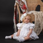Кукла реборн Стефания