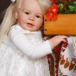 Кукла реборн Катенька