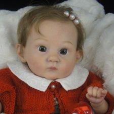 Моя малышка Пикси. Кукла реборн Галины Лобашовой
