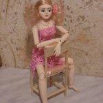 Шарнирные авторские куклы из папье-маше и самозатвердевающего пластика Стёпиной Людмилы