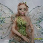 Шарнирные авторские куклы из полимерного пластика Стёпиной Людмилы