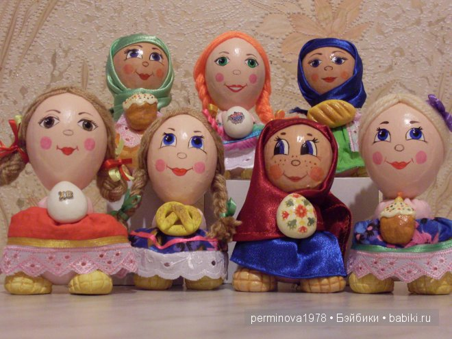 Куклы сувениры Стёпиной Людмилы. МК по их изготовлению