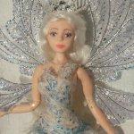 Зимняя сказка, авторская шарнирная кукла Стёпиной Людмилы