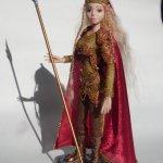 Лорана Золотой Полководец, авторская шарнирная кукла