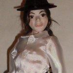 Майкл Джексон. Авторская кукла Стёпиной Людмилы