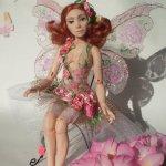 Крошка Роза. Авторская шарнирная кукла Стёпиной Людмилы