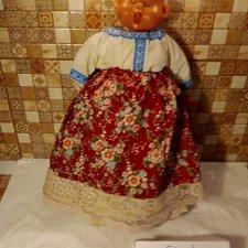 Старенькая кукла на чайник с доставкой