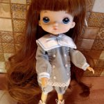 Кукла с каштановым цветом волос типa hola,monst === сегодня 2500===