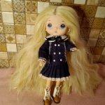 Кукла блондинка в винтажном стиле типa hola,monst=== сегодня 2500==