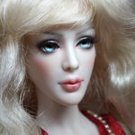 Авторская шарнирная кукла Sophi, BJD-кукла. Автор Валентина Васильева