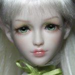 Весеннее чудо - эльфиечка Leya. Авторская шарнирная кукла