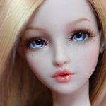 Весеннее чудо - авторская шарнирная кукла Elza