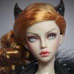 Авторская шарнирная кукла Mari