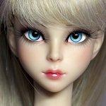 Авторская шарнирная кукла Nicole