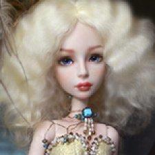 Авторская шарнирная кукла Hoshi