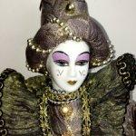 Венецианский Арлекин кукла