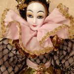 Арлекин Венецианская кукла