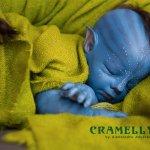 Гость с планеты Пандора, малыш Тсу'тей из мастерской CRAMELLY
