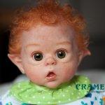 Кукла реборн. Рыжик из мастерской CRAMELLY