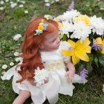 Фея цветов, кукла реборн из мастерской CRAMELLY