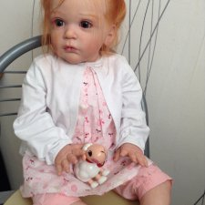 Малышка Машенька из молда Маттиа от Гудрун Леглер