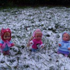 Ура, первый снег