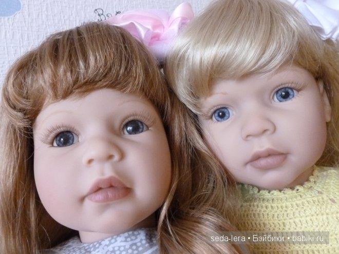 Куклы Lee middleton Anna-Lynn и English Cauntry Garden, обзор, сравниваем