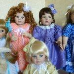 Куколки Донны Руберт, серия  artista doll