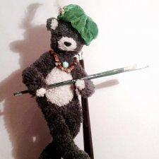 Томаш.. храбрый медведь, появившийся на свет сегодня. Мишка тедди