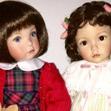 Милые Jenny и Emily от Dianna Effner
