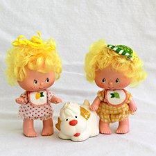 Большой мир маленьких кукол. Часть 10. Винтажные Клубнички Strawberry Shortcake