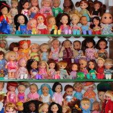 Как они у меня живут. 1000 мини-кукол в одном доме.