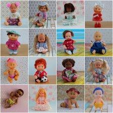 100 новых мини-кукол... и ещё чуть-чуть. Часть 2