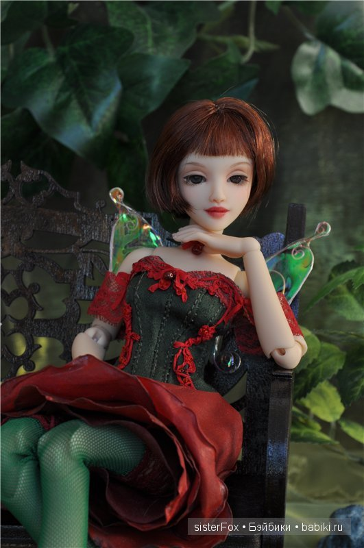 полиуретановые шарнирные куклы SisterFox молд Роза