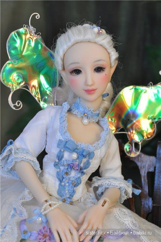 полиуретановые шарнирные куклы SisterFox молд Пион